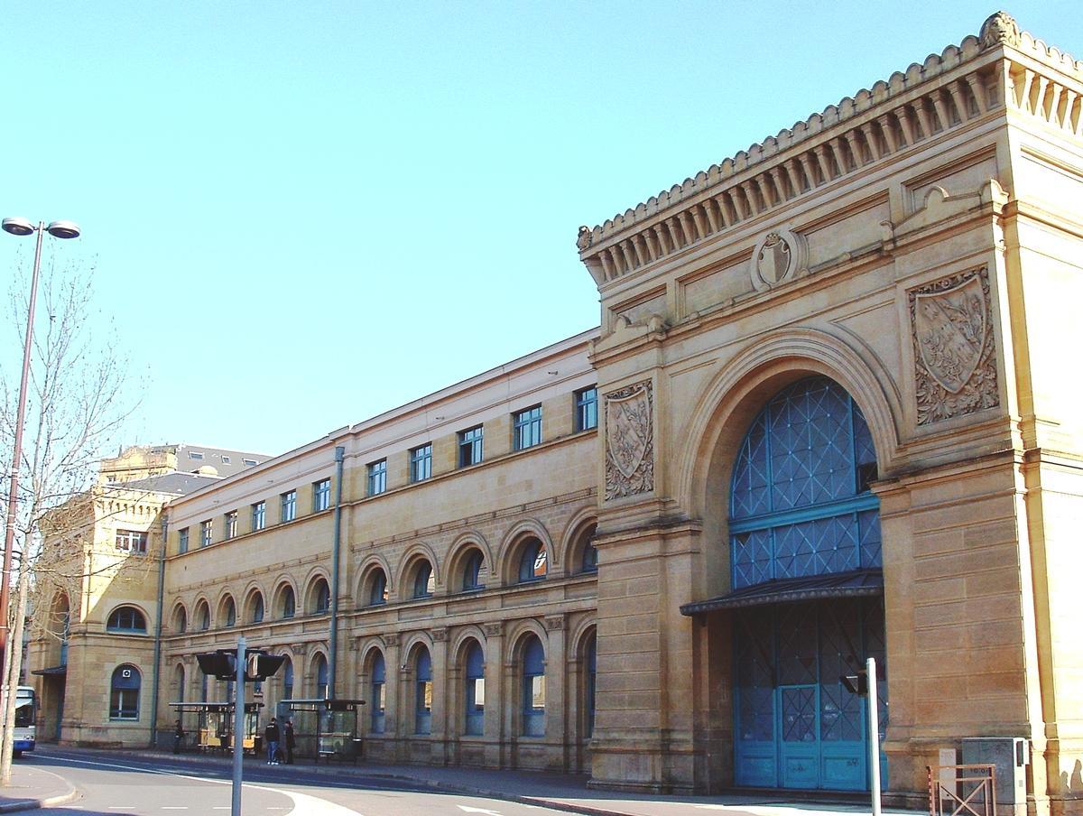 Old Metz Railrway Station
