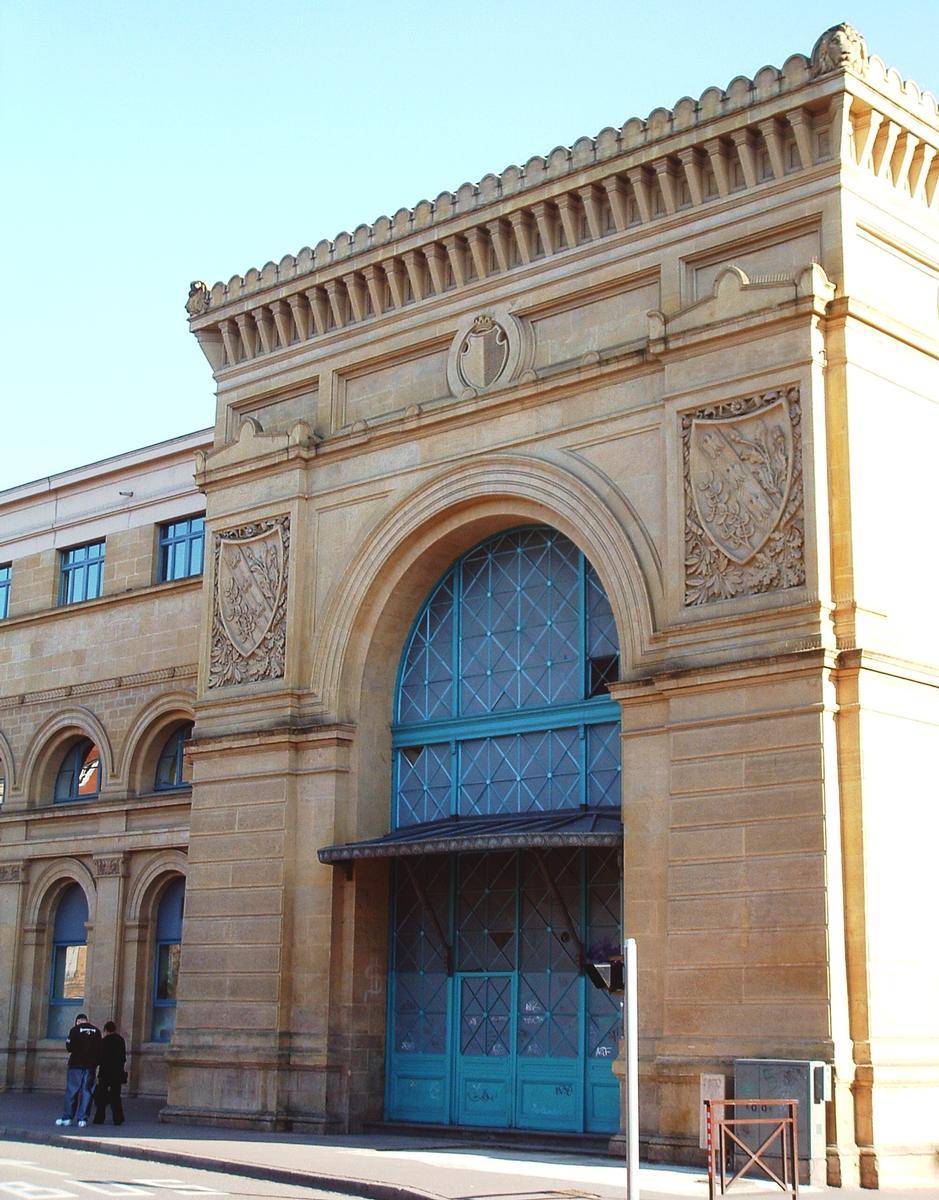 Ehemaliger Bahnhof in Metz