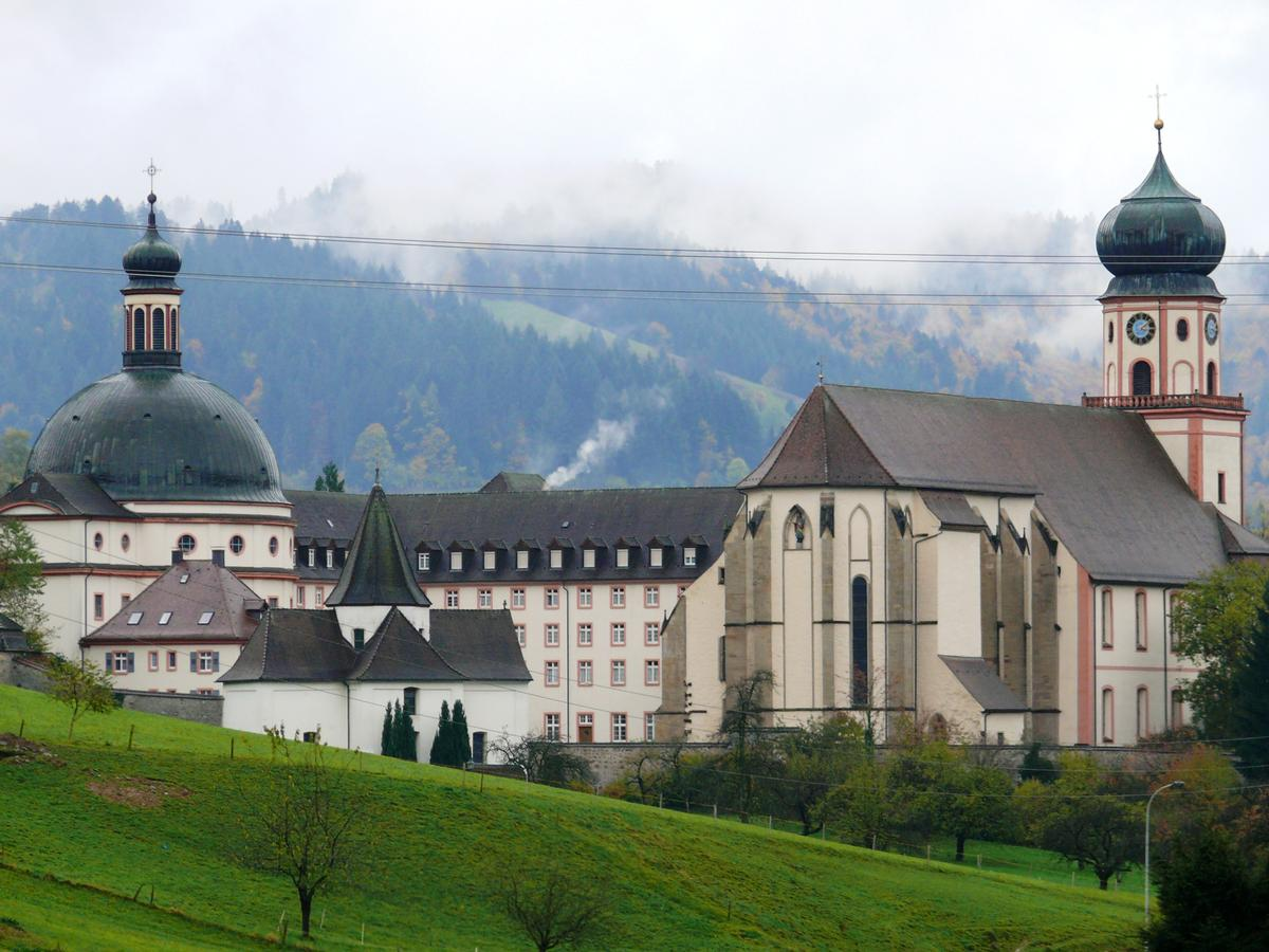 Münstertal - Abbaye Saint-Trudpert