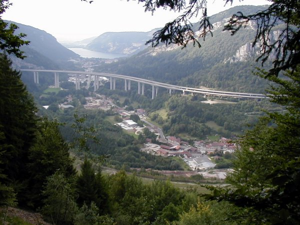 Nantua Viaduct on the Autoroute A40