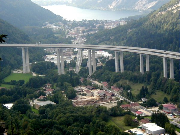 Nantua Viaduct on the Autoroute A40