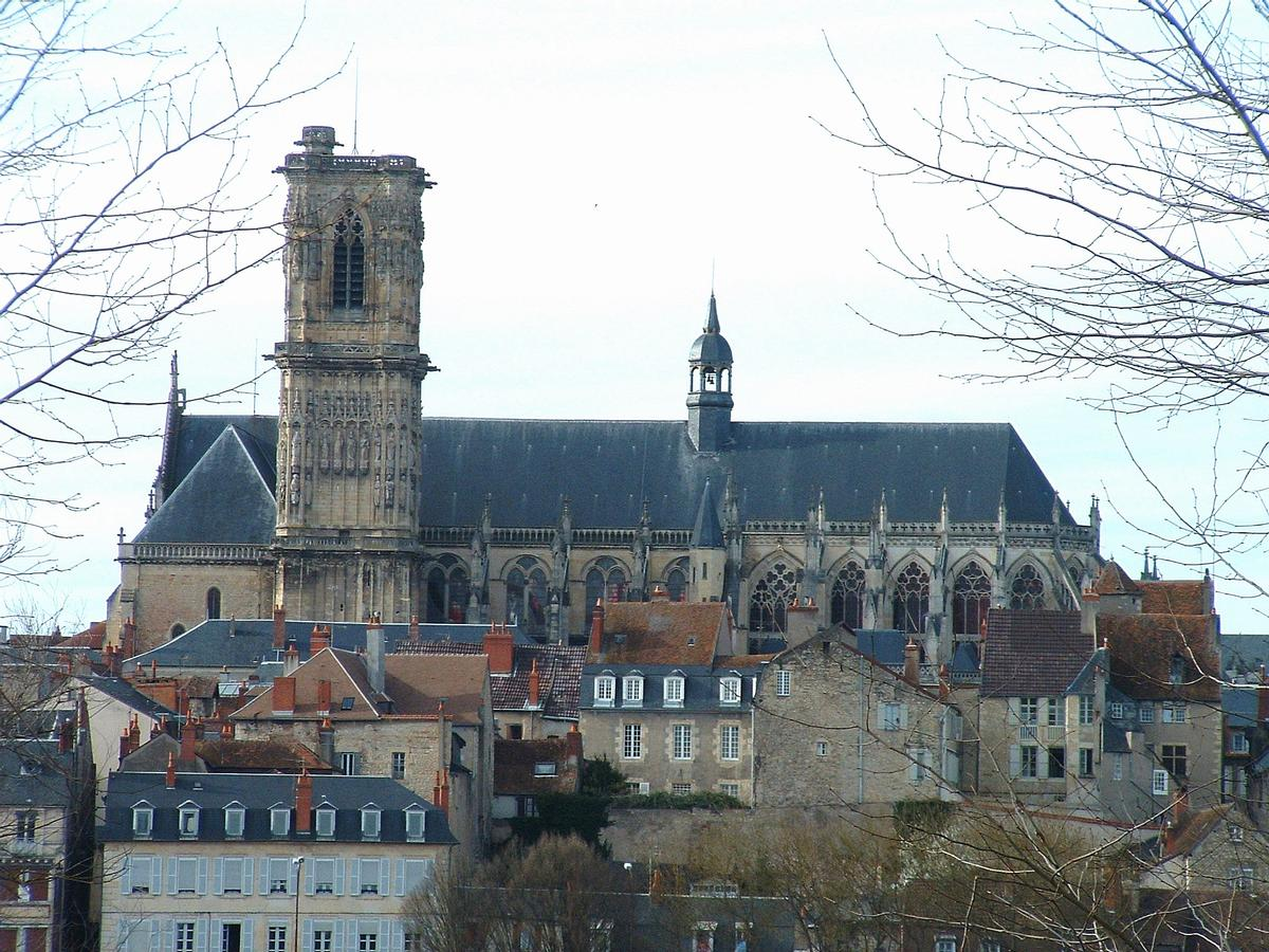 Nevers Cathedral (Nevers, 11th century-16th century ...