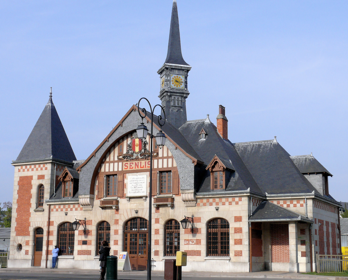 Senlis - Ancienne gare de Senlis