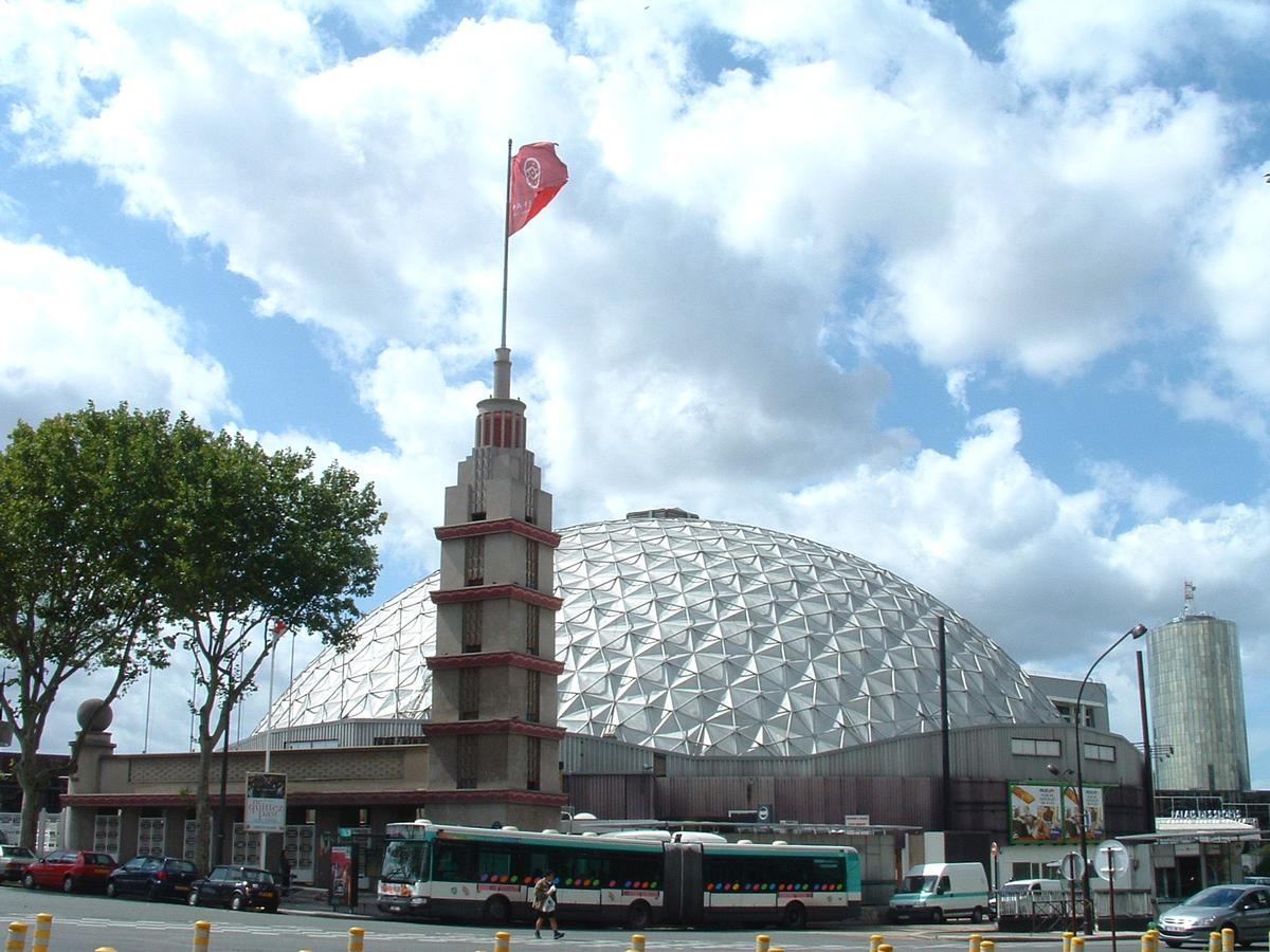Palais des sports de la porte de versailles paris 15 me for Paris porte de versailles