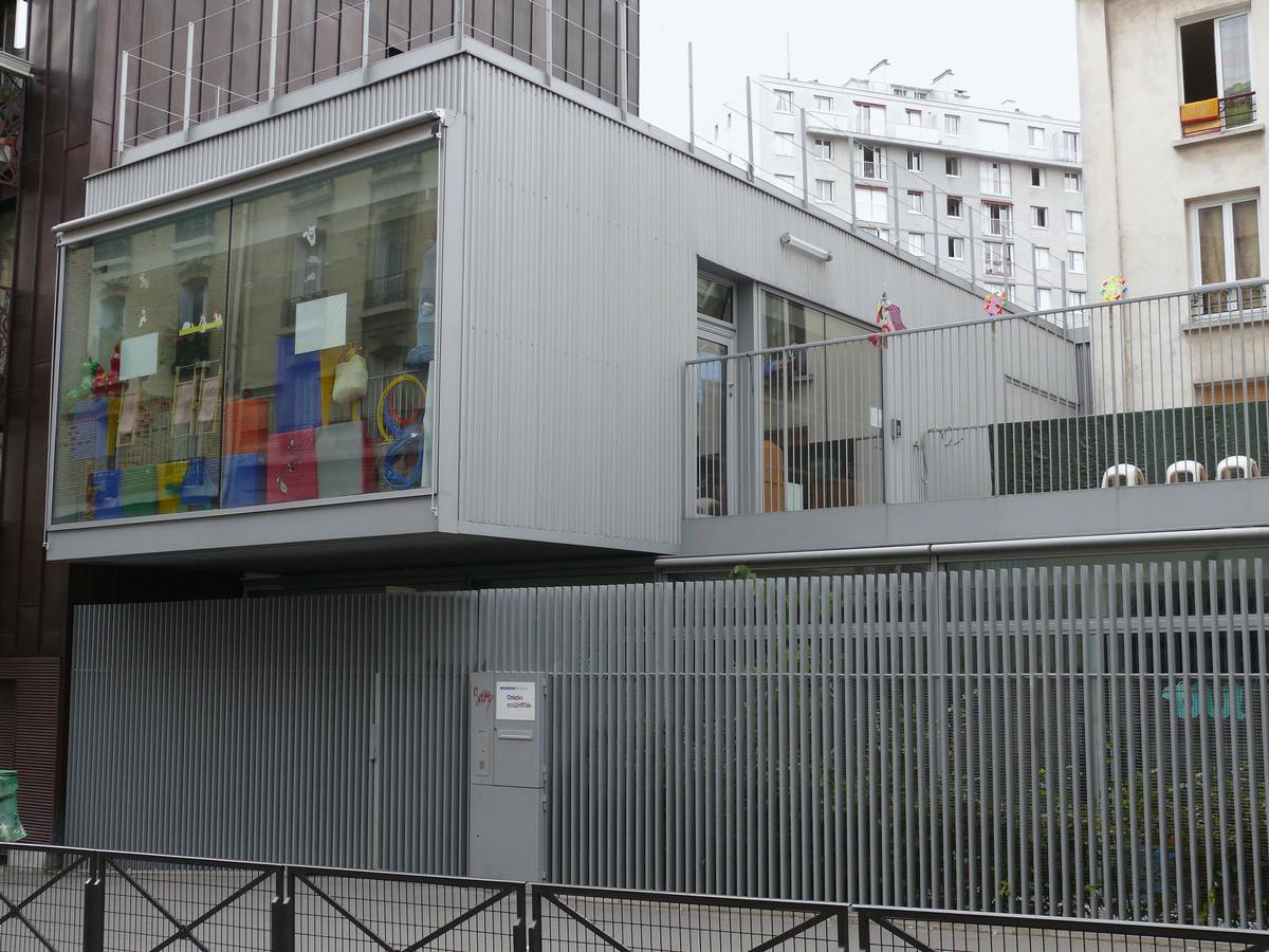 Paris 12ème arrondissement - Crèche Montgallet