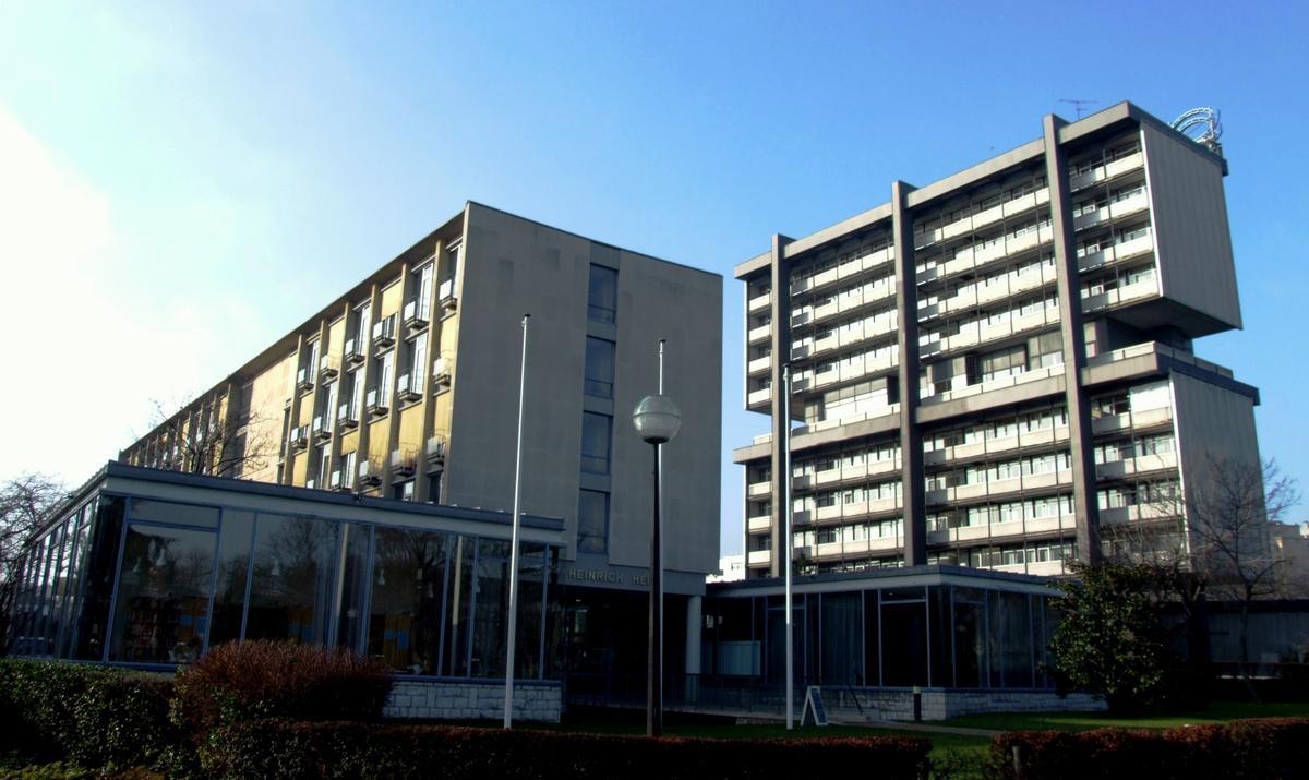 Cit internationale universitaire paris 14 me structurae for Maison de norvege cite universitaire