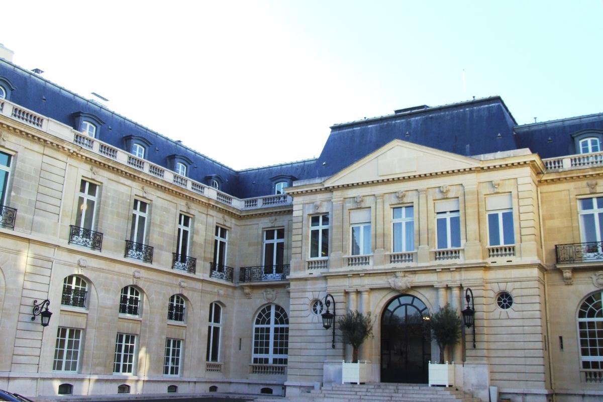 Château de la Muette (Paris (16 ème ), 1922)   Structurae