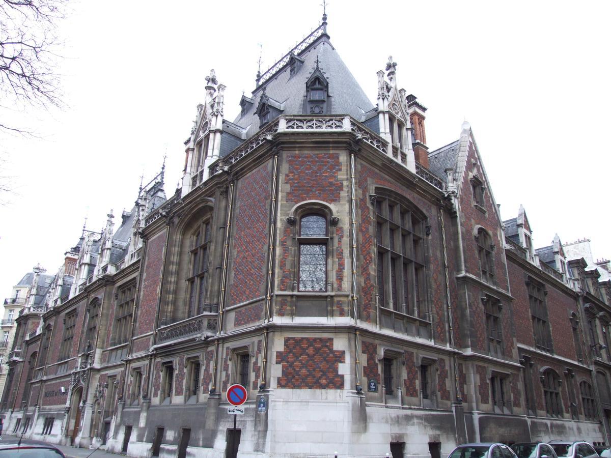 H Tel Gaillard Paris 17 Me 1884 Structurae