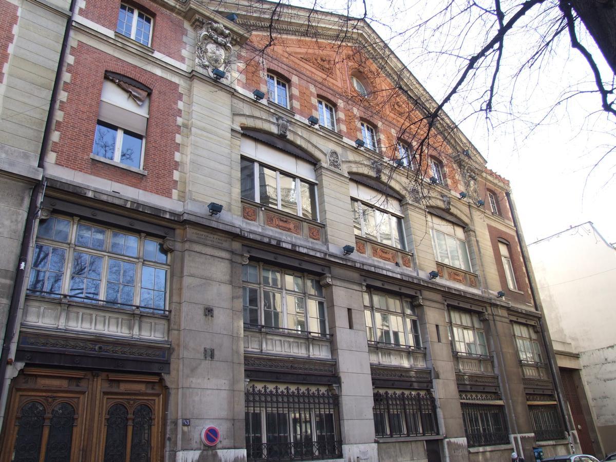 Paris - 17 ème arrondissement - Usine électrique de la rue des Dames