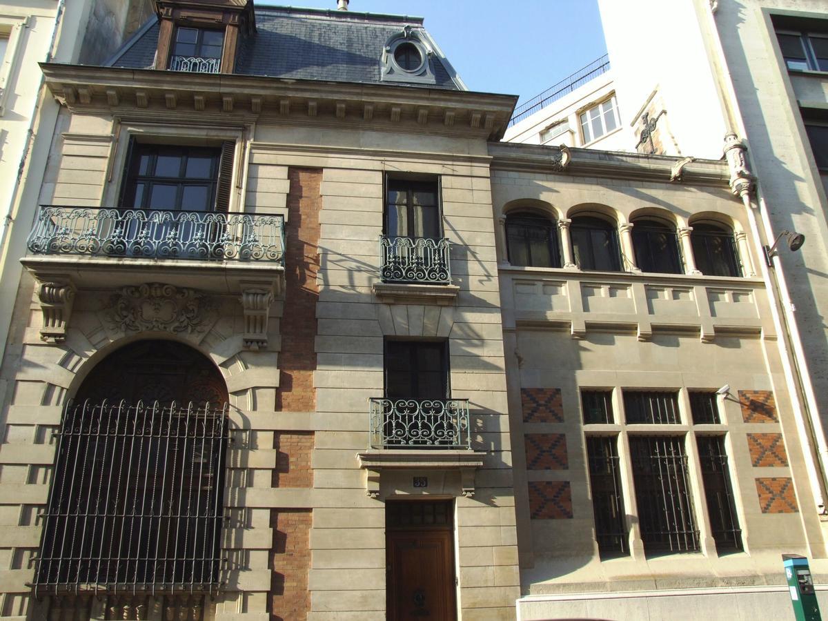 Paris - 17ème arrondissement - Hôtel Sarah Bernhardt