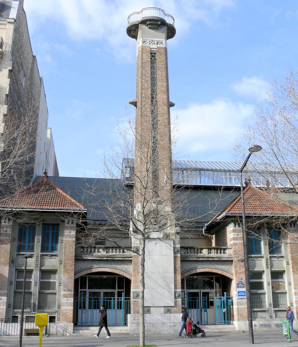 Image no. 137219 Paris 19 ème arrondissement - Gymnase Jean-Jaurès