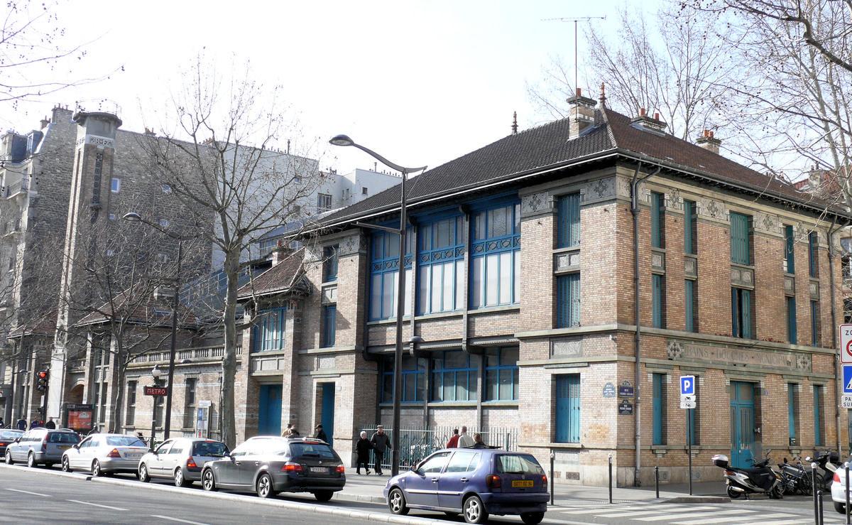 Paris 19ème arrondissement - Gymnase Jean-Jaurès