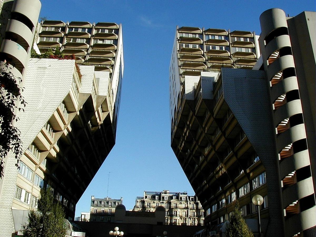 Immeuble «Les orgues de Flandre», Paris.