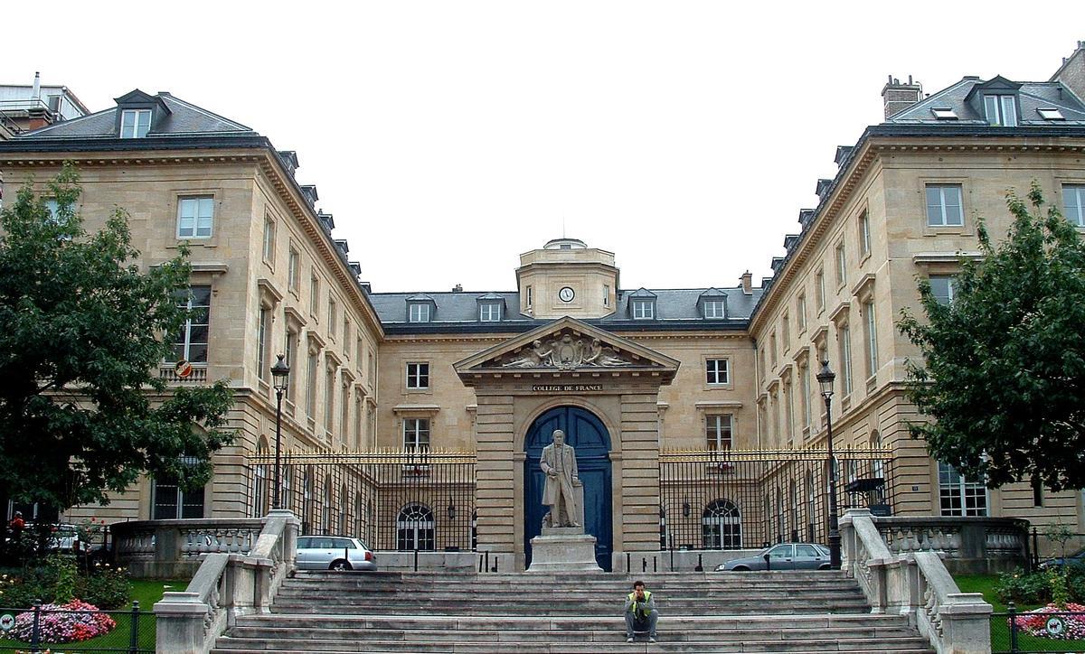 Paris - Collège de France - Façade place Marcelin-Berthelot