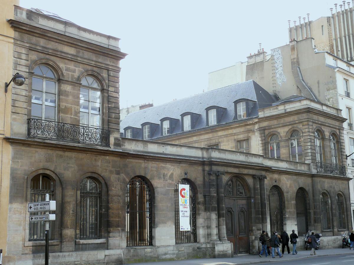 H tel de chimay paris 6th 1756 structurae - Ecole des beaux arts paris ...