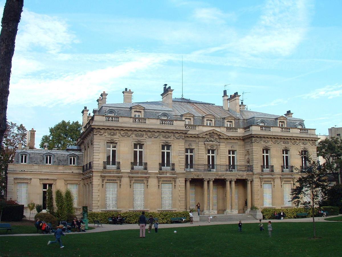 Hôtel Salomon de Rothschild - Façade côté jardin