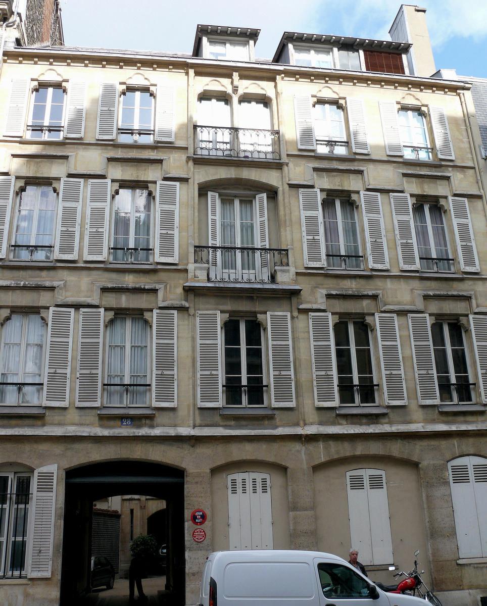 Paris 8ème arrondissement - Immeuble 28 rue de Liège