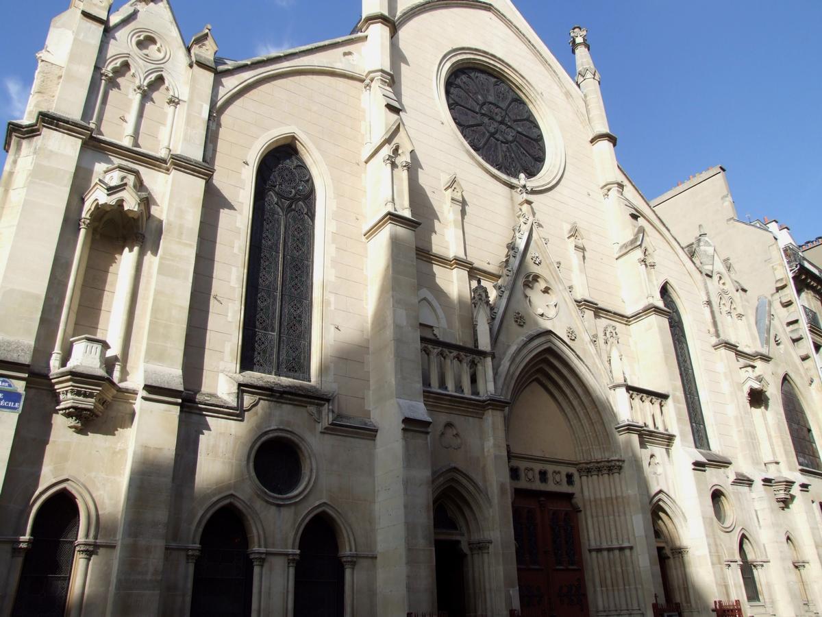 Eglise Saint-Eugène - Façade