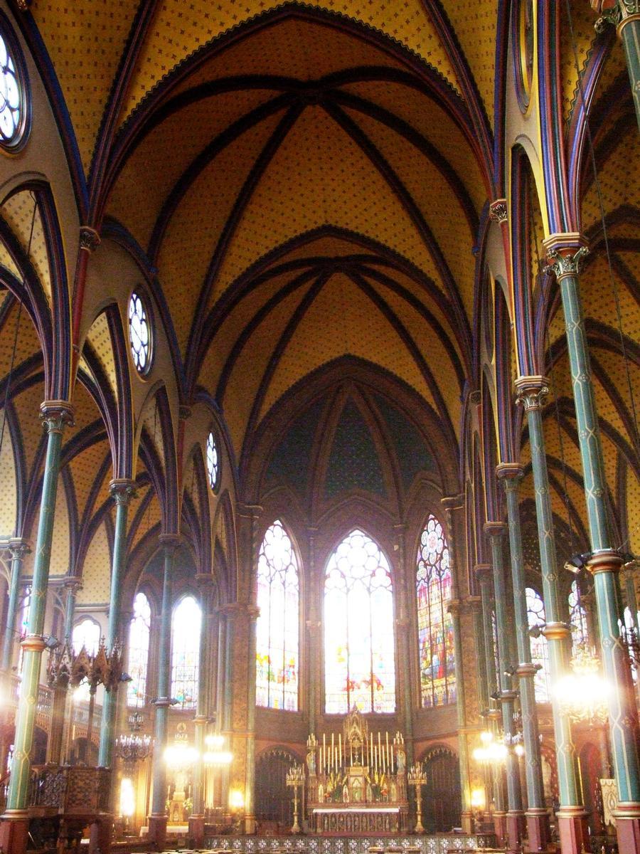 Eglise Saint-Eugène - Nef