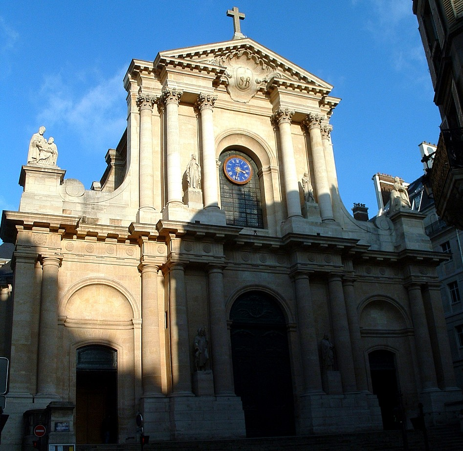 Eglise Saint-Roche, Paris.