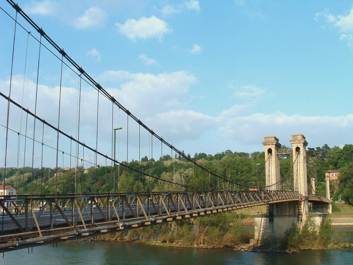pont de couzon couzon au mont d or rochetaill 233 e sur sa 244 ne structurae