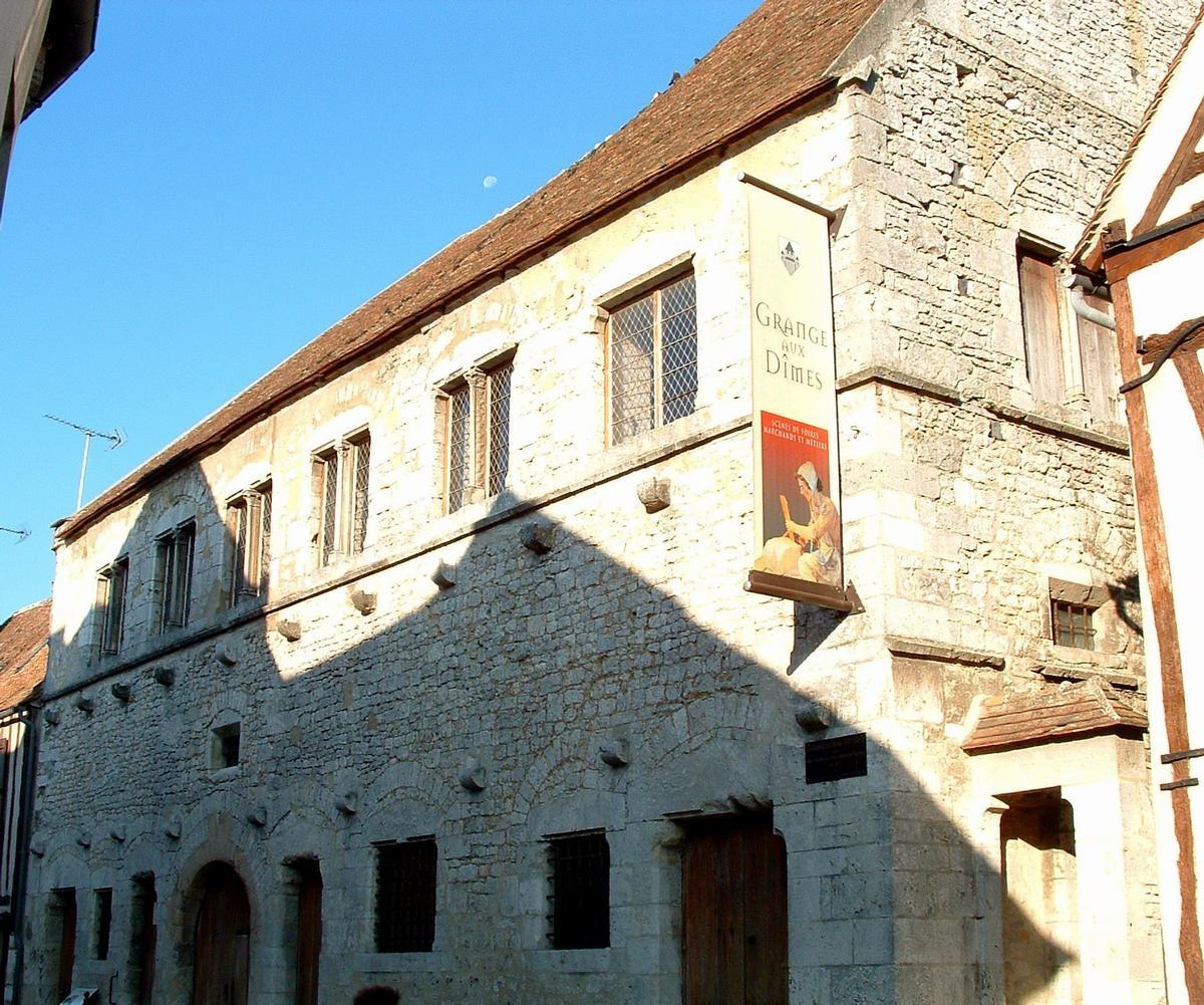 Provins - Grange aux dîmes