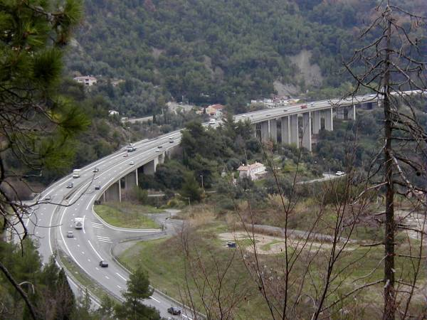 Autoroute A8: Viaduc du Rank, Viaduc de Gorbio