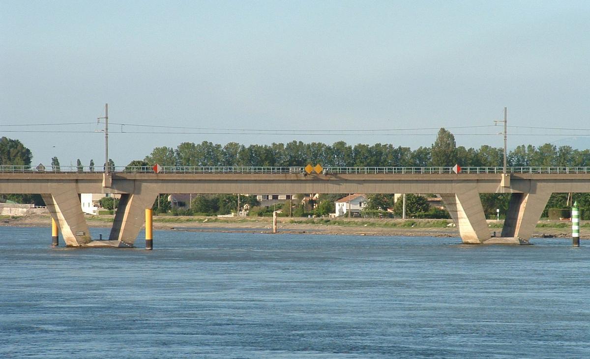 La-Voulte-sur-Rhône - Pont ferroviaire - Une travée