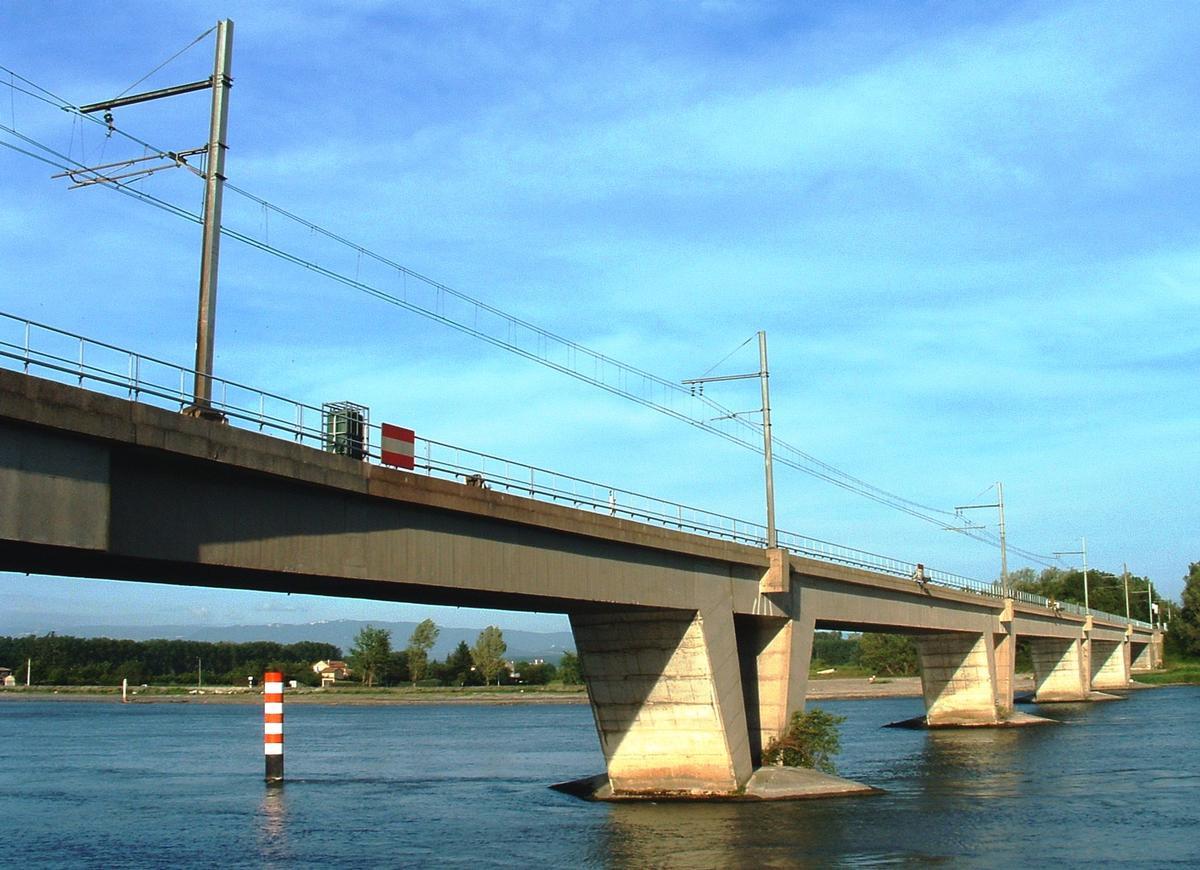 La-Voulte-sur-Rhône - Pont ferroviaire - Ensemble