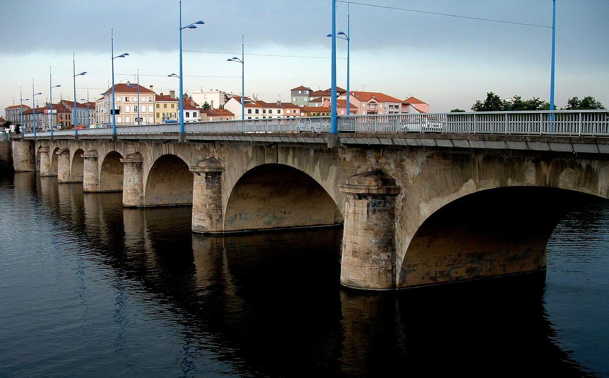 Roanne - Pont routier - Ensemble