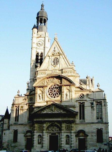 saint etienne du mont church paris 5th 1540 structurae. Black Bedroom Furniture Sets. Home Design Ideas