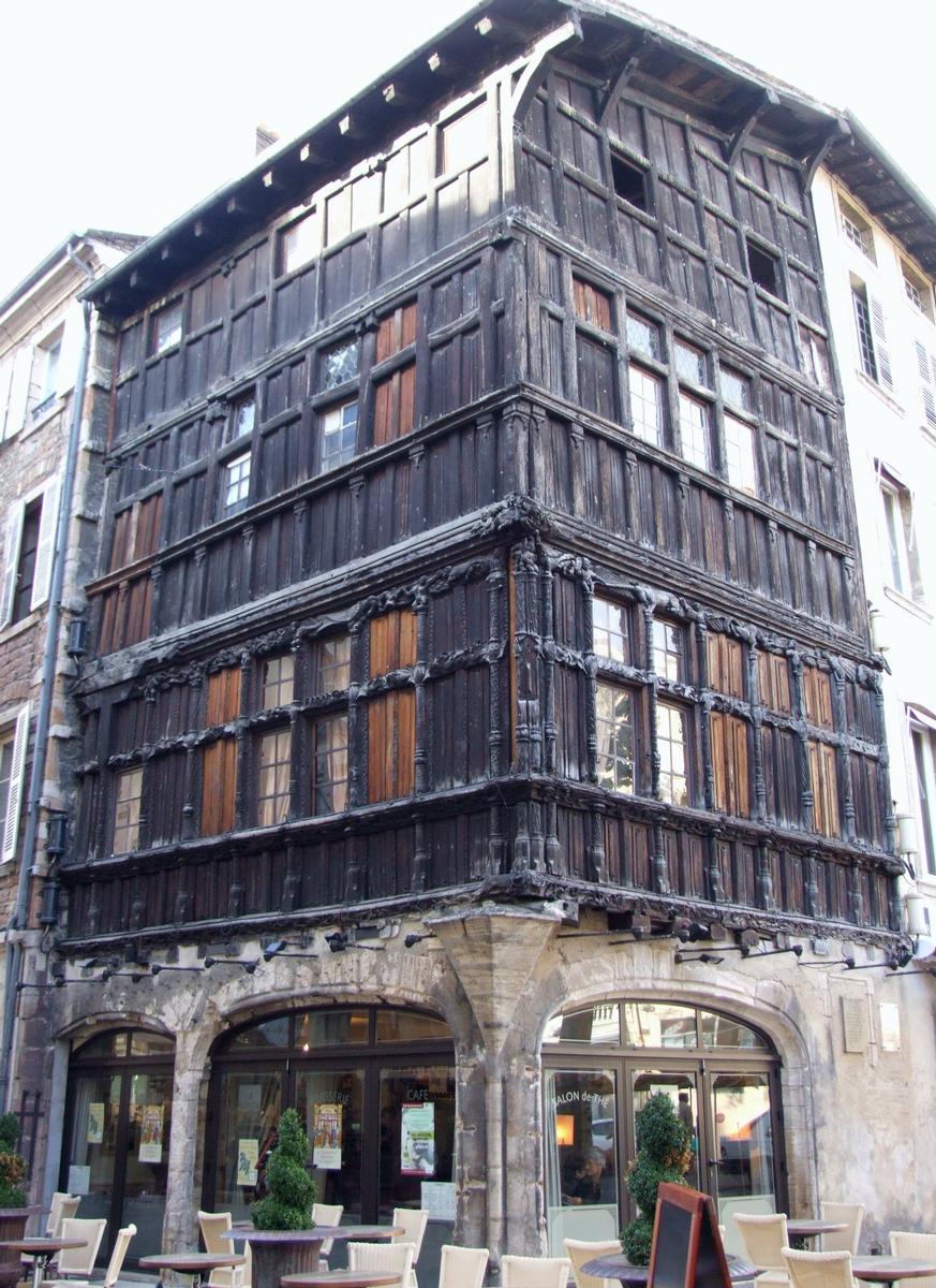 Maison de bois m con structurae - La maison de bois macon ...
