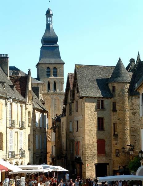 Cathédrale Saint-Sardos, Sarlat.
