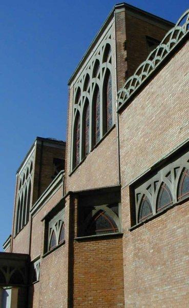 Eglise Saint-Jean-de-Montmartre.Vue extérieur de la nef