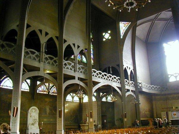 Eglise Saint-Jean-de-Montmartre.Intérieur