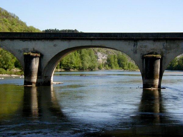 Pont de Louis Vicat à Souillac.