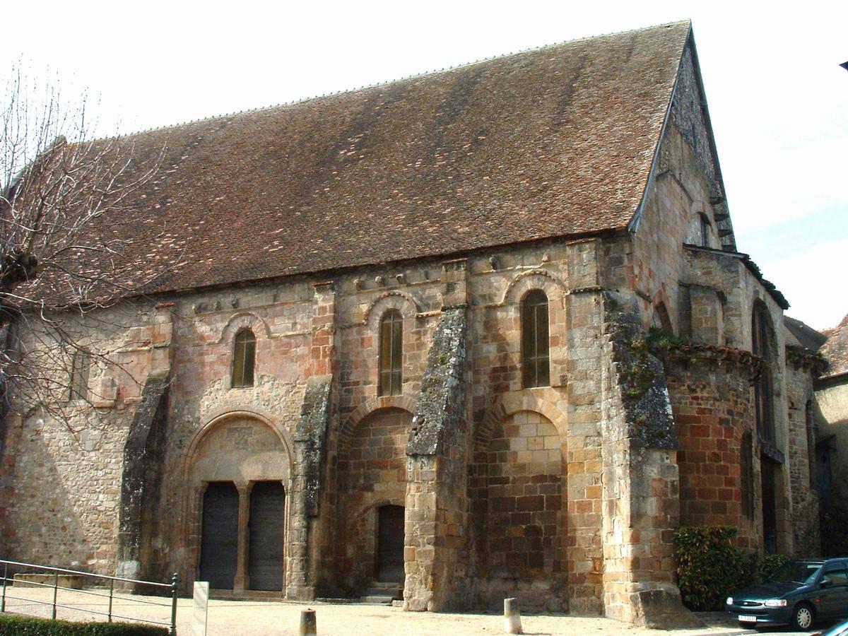 Souvigny - Ancienne église paroissiale Saint-Marc - Ensemble