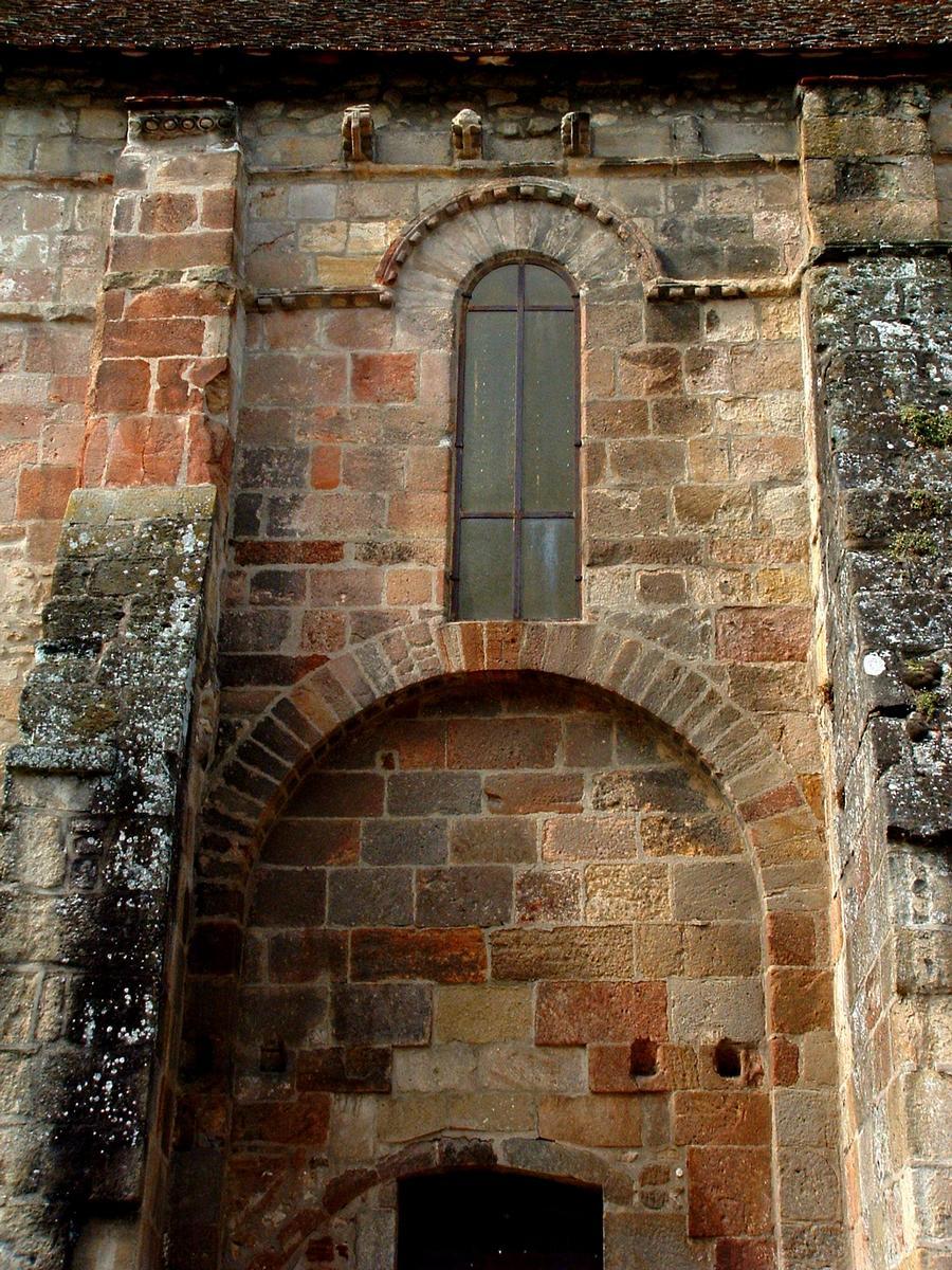 Souvigny - Ancienne église paroissiale Saint-Marc - Elévation du mur extérieur