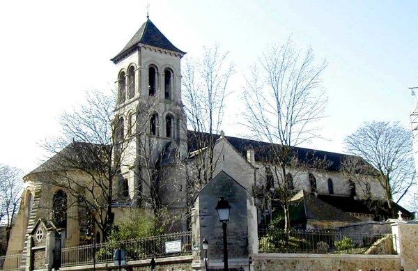 Glise saint pierre de montmartre paris 18 me 1147 structurae - Place saint pierre paris ...