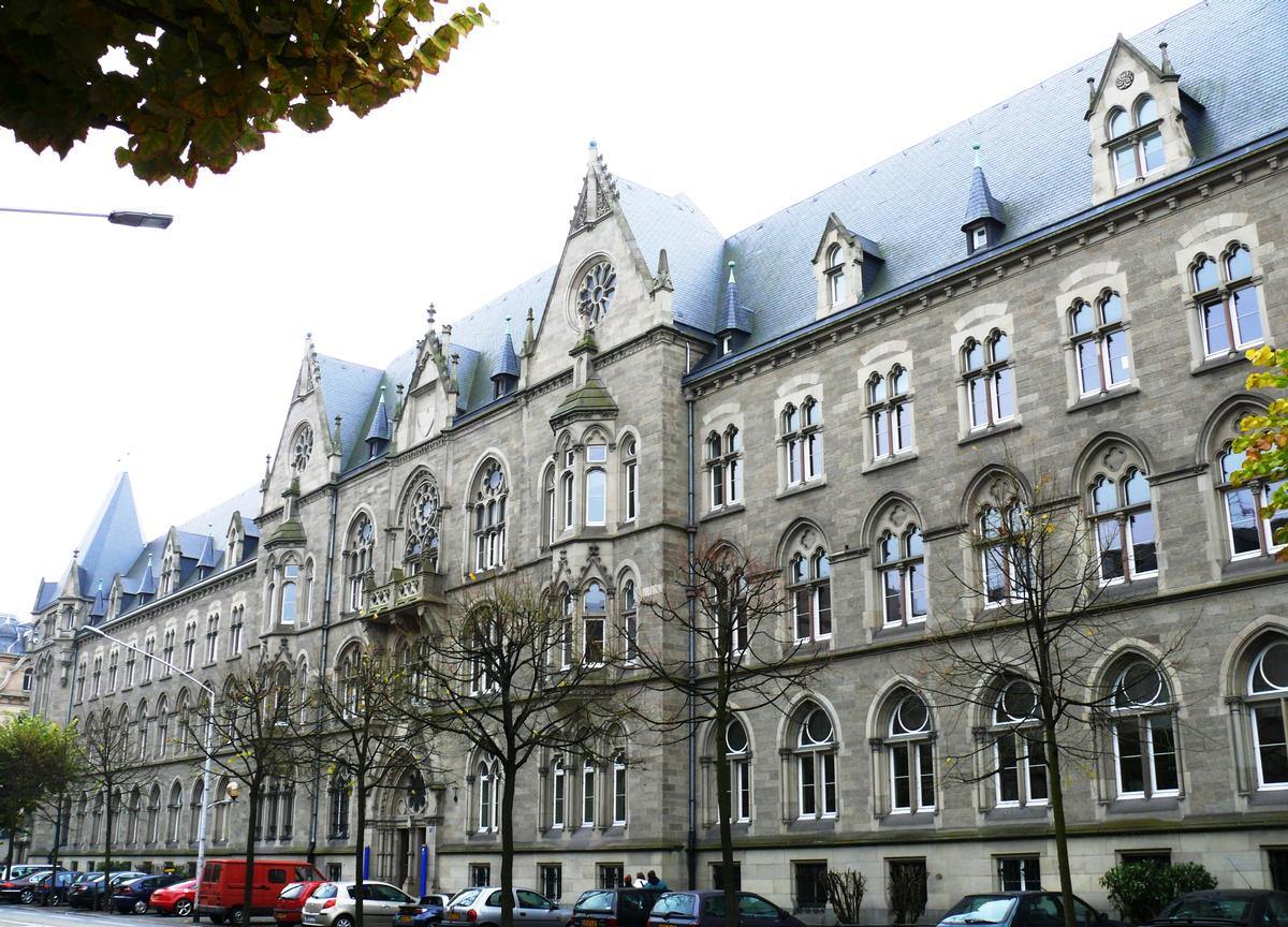 poste centrale de strasbourg strasbourg 1899 structurae