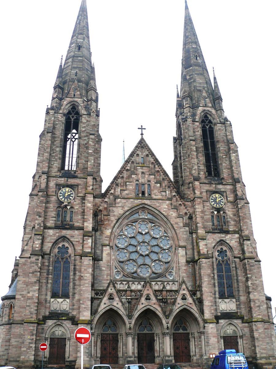 Strasbourg - Eglise réformée Saint-Paul