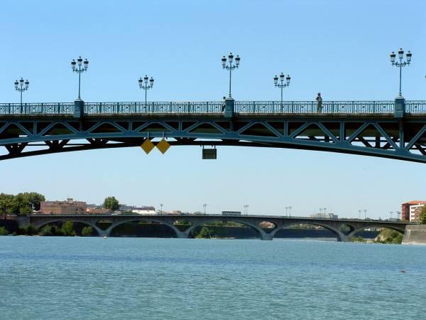 Pont Saint-Pierre et Pont des Catalans