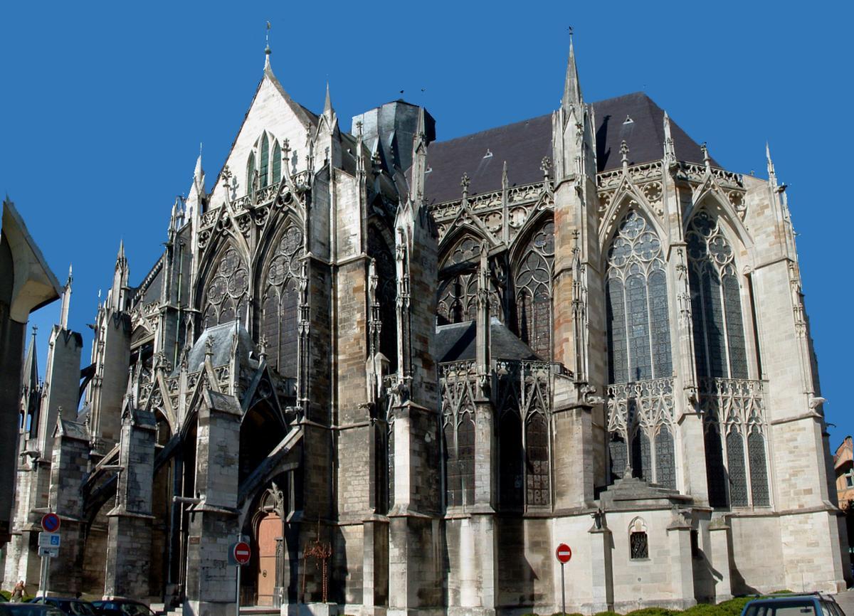 Troyes - Basilique Saint-Urbain - Ensemble