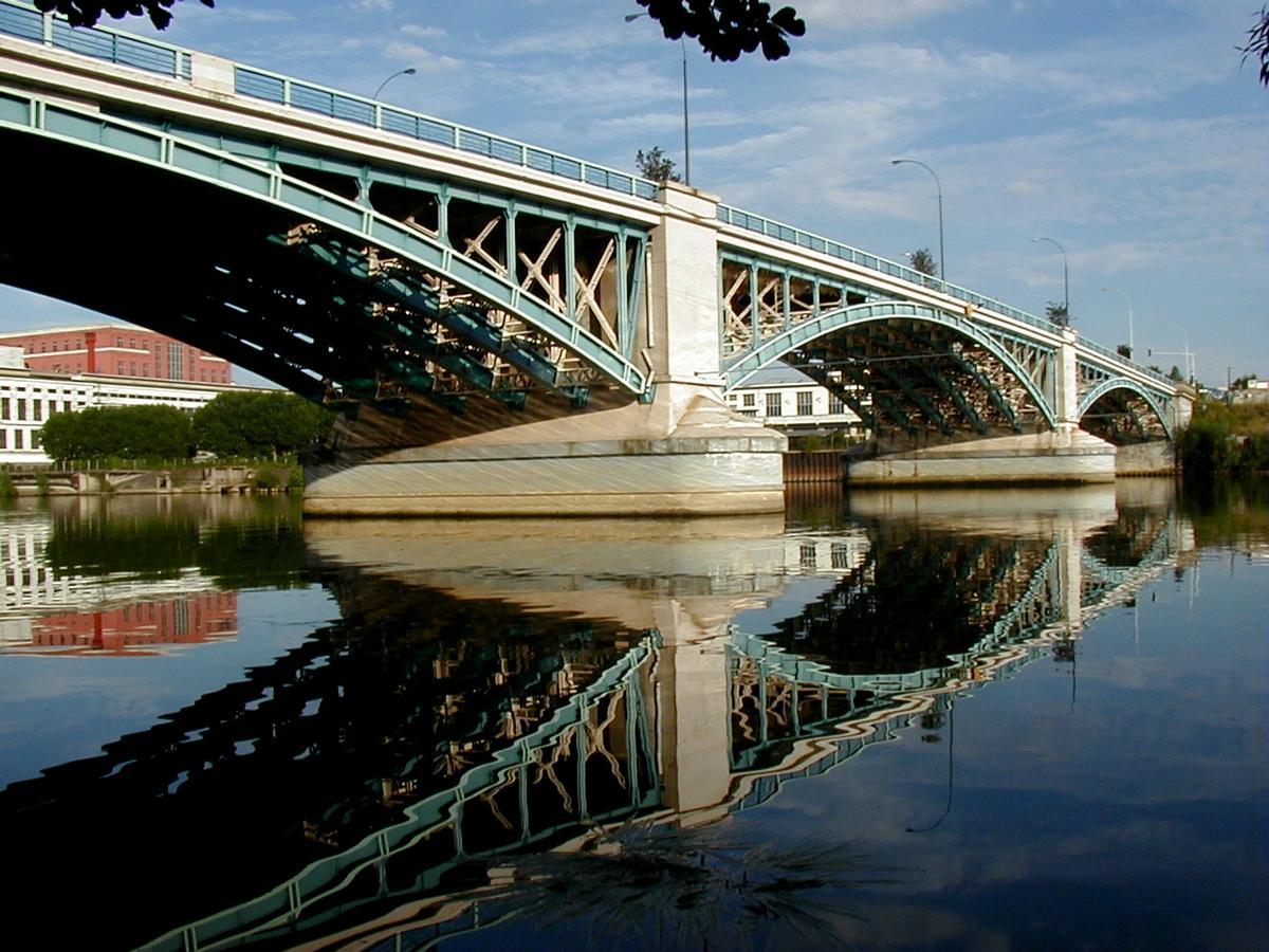 argenteuil bridge gennevilliers argenteuil structurae