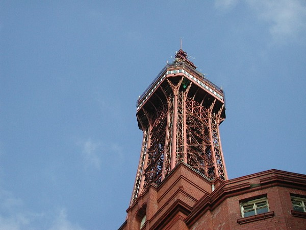 Blackpool Tower.