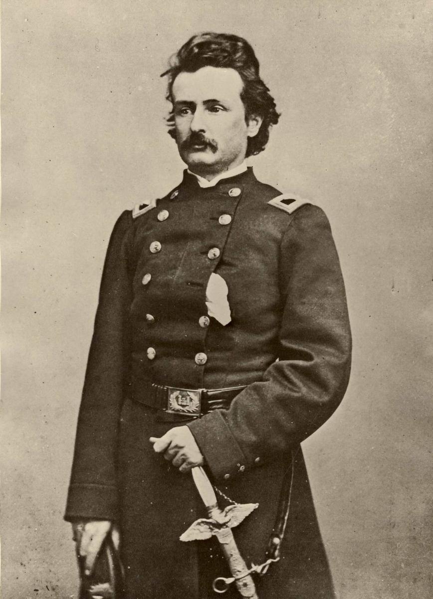 General Edward William Serrell –  Aus der Privatsammlung von André Serrel; Benutzung mit freundlicher Genehmigung