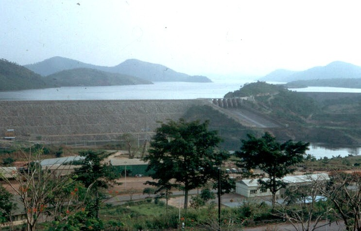 Akosombo Ghana  city pictures gallery : Barrage d'Akosombo Akosombo | Structurae