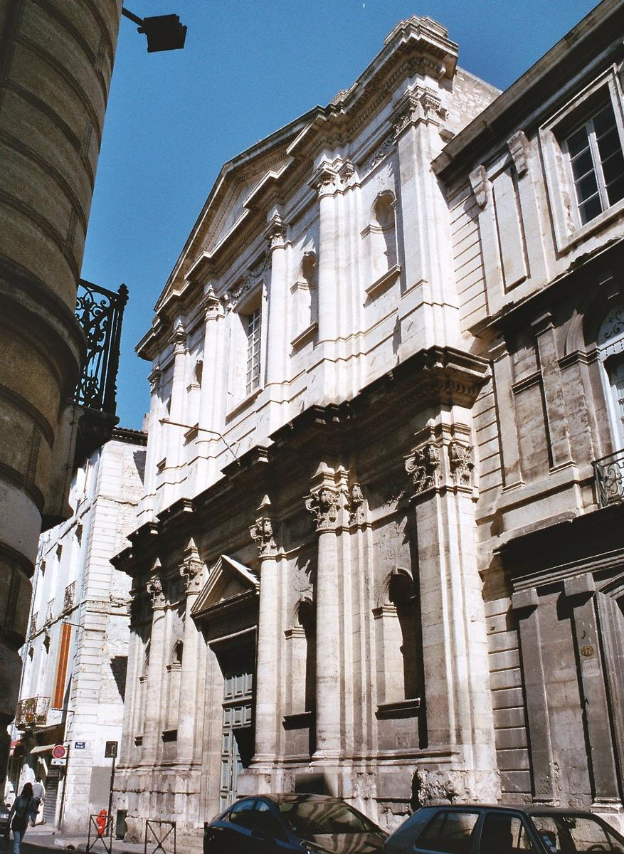Капелла иезуитов (Chapelle des Jésuites) - Достопримечательности Нима (Nîmes)