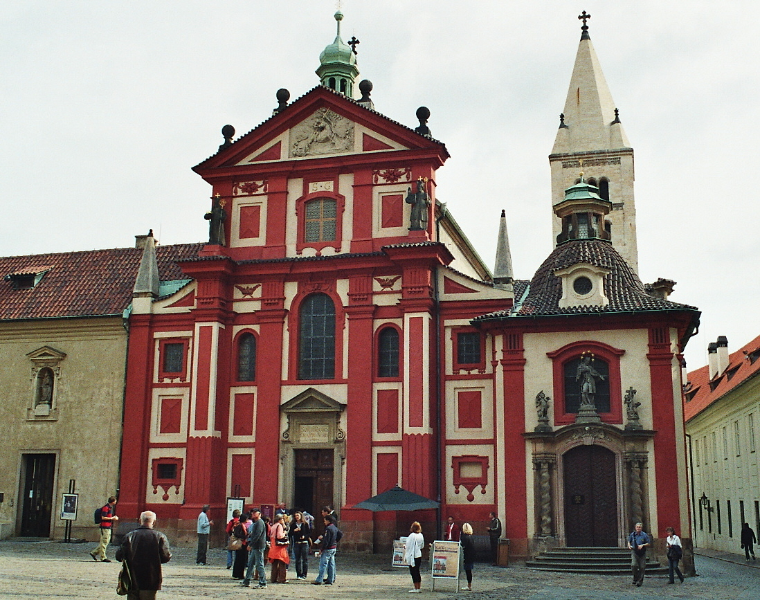 Prague Castle - Saint George's Basilica