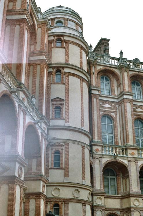 Les façades intérieures (Renaissance) du château de St-Germain-en-Laye (Yvelines)